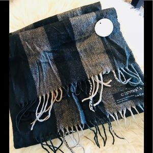 Other - 🧣 Cashmink made in Germany chocolate scarf NWT